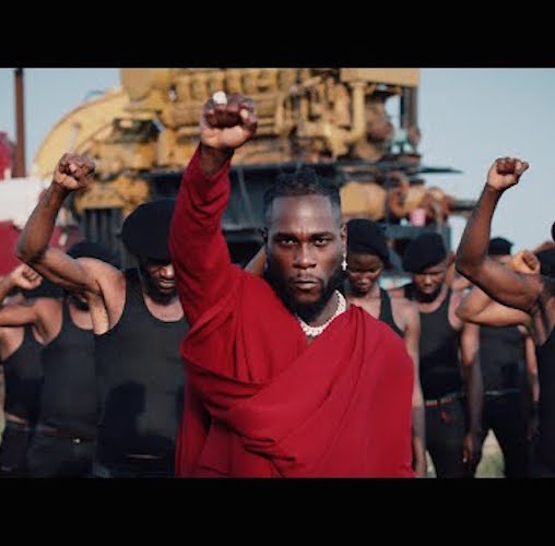 Burna Boy - Monsters You Made Ft. Chris Martin