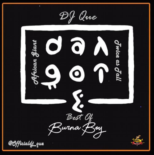 DJ Que Ft. Burna Boy - Best Of Burna Boy Mix