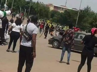 Thugs Attack #EndSARs Protesters in Abuja