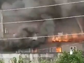 Lagos Governor Sanwo Olu Family House In Lagos Island On Fire