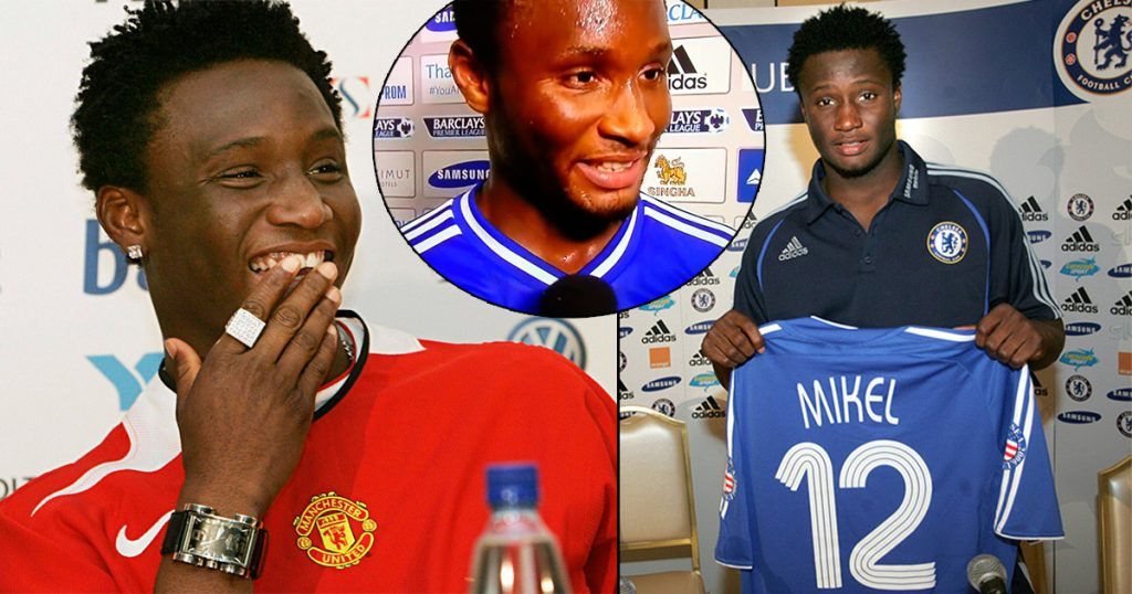 Mikel Obi reveals why he snubbed Manchester United for Chelsea