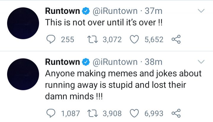 'Anyone Making Jokes About Running Away From Nigeria Is Stupid' - Runtown1