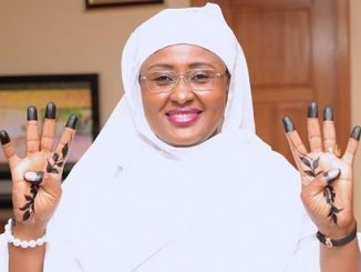 Aisha Buhari Jets Out To Dubai For Delivery Of Her Daughter, Zahra