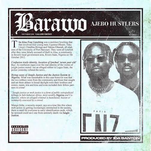 Ajebo Hustlers x Davido - Barawo Type Beat
