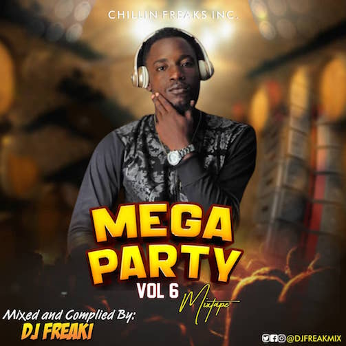 DJ Freaki - Mega Party Mix Vol. 6