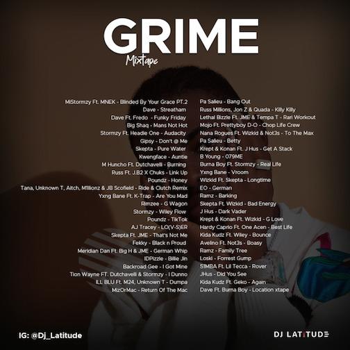 DJ Latitude - Grime Mix