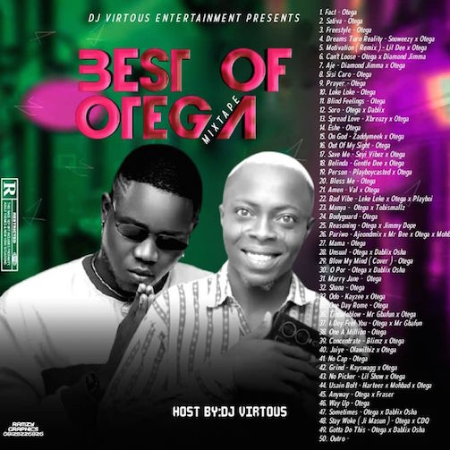DJ Virtuous - Best Of Otega Mixtape