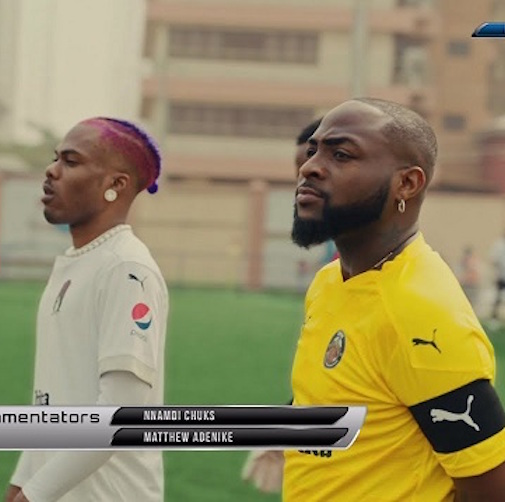 Davido Ft. CKay - La La Video