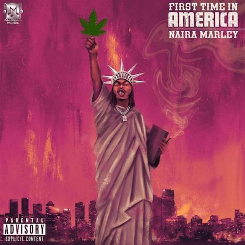 Lyrics Naira Marley - First Time In America