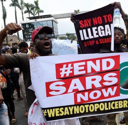 Kaduna Youths Join EndSARS Protest