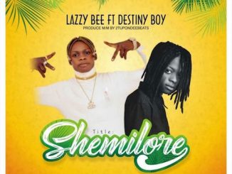 Lazzy Bee - Shemilore Ft. Destiny Boy