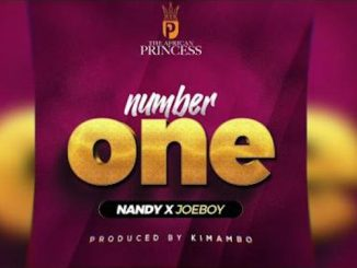 [Video] Nandy - Number One Ft. Joeboy