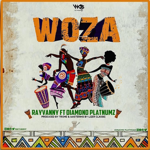 Rayvanny - Woza Ft. Diamond Platnumz