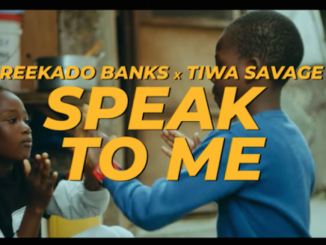 Reekado Banks - Speak To Me Video
