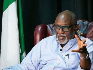 Akeredolu Lifts Curfew, Sues For Calm In Ondo State