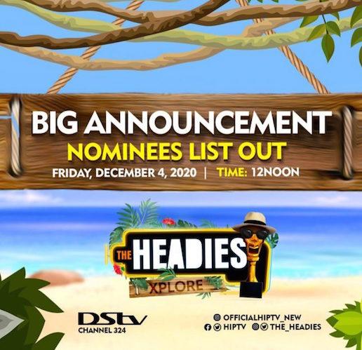 The 14th Headies Nominees | See Full List