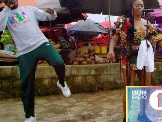 Tiwa Savage Performs at BBC 1Xtra Live 2020