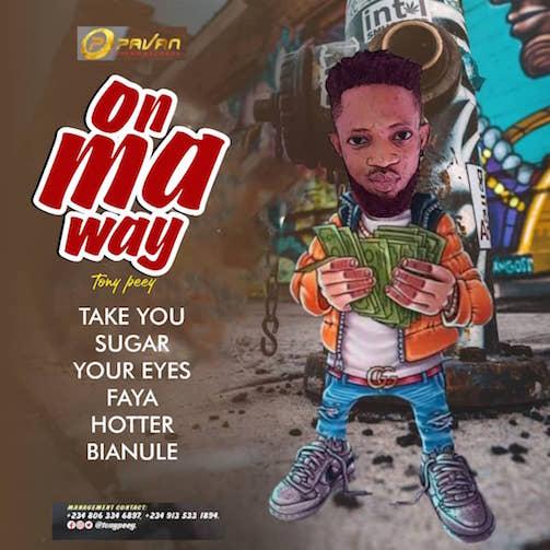 Tony Peey - On Ma Way (EP)