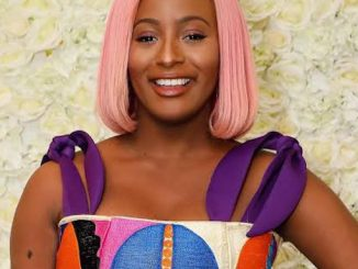 Cuppy Drops Her Ferrari For Public Transport In The UK