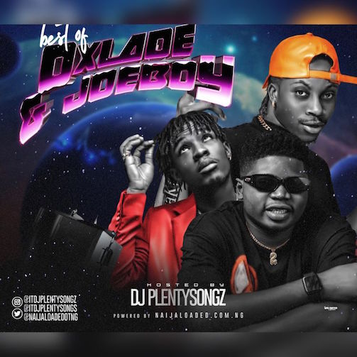 DJ PlentySongz - Best Of Oxlade & Joeboy Mix (2021)