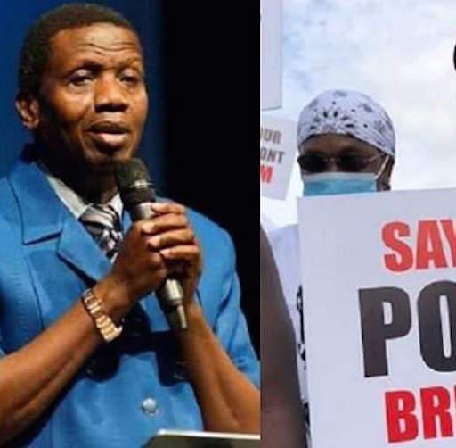 End SARS: Pastor Adeboye Backs Anti-SWAT Protest, Gives Reason
